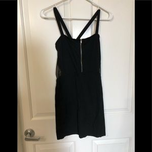 ⭐️FINAL SALE⭐️ 🆕•H&M• Mini Zip Dress with Mesh